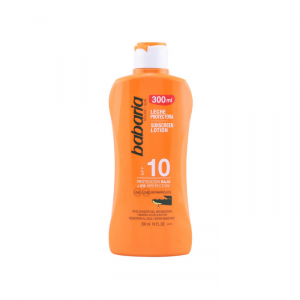 Babaria Sunscreen Lotion Spf10 Aloe Vera 300ml