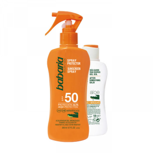Babaria Sunscreen Spray Spf50 200ml Set 2 Parti