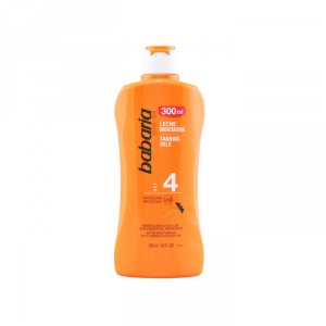 Babaria Tanning Milk Carrot Spf4 300ml