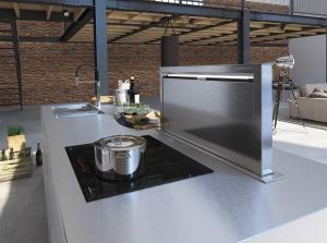 K06 cucina in legno laccata