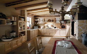 country style solid wood kitchens, shabby chic, traditional ...