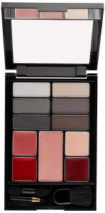 Revlon Palette Set di Trucco, Occhi, Zigomi e Labbra Colore, 200Seductive Smokies