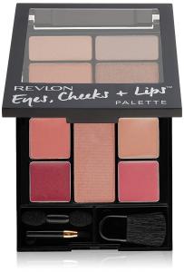 Revlon Palette Set di Trucco, Occhi, Zigomi e Labbra Colore, 100Romantic Nudes