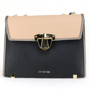 Shoulder bag Cromia ABBY 1403950 NERO+NUDE