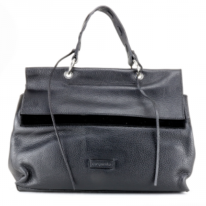 Hand and shoulder bag Cromia LEXA 1404025 NERO