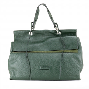 Hand and shoulder bag Cromia LEXA 1404025 VERDE