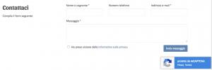 Storeden app - screenshot 1 - Google reCAPTCHA