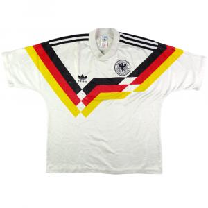 1988-90 Germania Ovest Maglia Home M