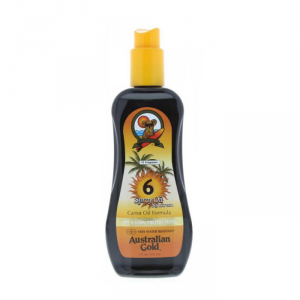 Australian Gold Sunscreen Carrot Oil Spray Spf6 237ml