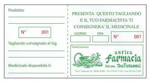 Memo medicinale - Personalizzato