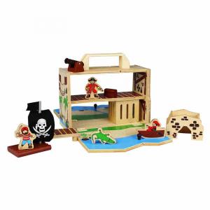 Isola dei pirati Boxset portatile Udeas