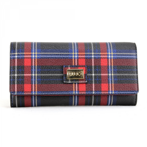Woman wallet Liu Jo HAWAII N68157 E0554 TARTAN