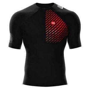 Maglia tecnica a compressione Compressport Trail Running Shirt postural
