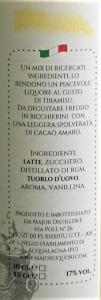 Crema di liquore al Tiramisù 50cl