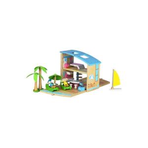 Villa sulla spiaggia per bambole Boxset portatile Udeas