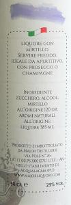 Liquore di Mirtilli 50cl