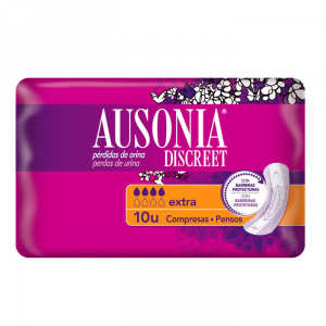 Ausonia Discreet Extra Sanitary Towels 10 Units