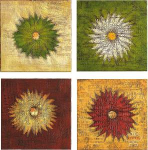 Quadro Quartetto floreale