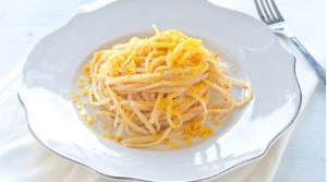 Linguine with tuna roe (serves 6 people)