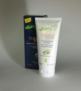 Crema termoattiva per il corpo coadiuvante al trattamento della cellulite