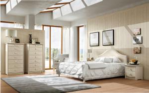 Camera in legno stile Retrò