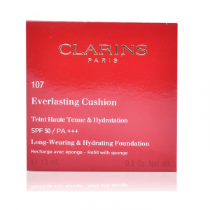 Clarins Everlasting Coushion Foundation Spf50 107 Recharge 13ml