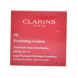 Clarins Everlasting Coushion Foundation Spf50 110 Honey Recharge 13ml