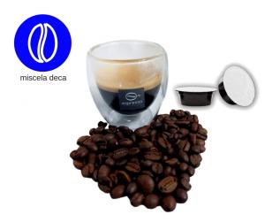 156 capsule caffè compatibili Lavazza A Modo Mio decaffeinato deca