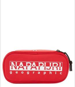 Beauty case Napapijri HAPPY PEN ORGANIZER N0YID4 R41 ROSSO