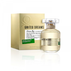 Benetton United Dreams Dream Big Woman Eau De Toilette Spray 80ml Special Edition