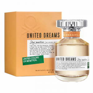 Benetton United Dreams Stay Positive Woman Eau De Toilette Spray 80ml