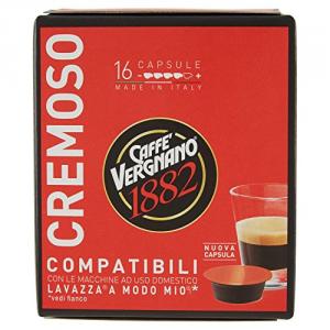 80 Capsule Caffè Vergnano Cremoso - Compatibili Lavazza A Modo Mio