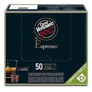 50 Capsule caffè Vergnano gusto Arabica - Compatibili NESPRESSO
