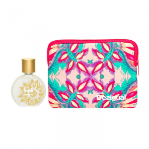 Desigual Fresh Woman Eau De Toilette Spray 100ml Set 2 Parti 2018