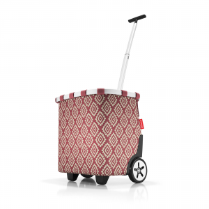 Reisenthel - Carrycruiser - Trolley da spesa multicolore diamonds rouge cod. OE3065