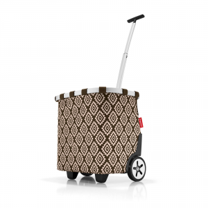 Reisenthel - Carrycruiser - Trolley da spesa multicolore diamonds mocha cod. OE6039