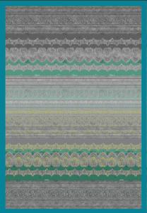 Bassetti Granfoulard MAXI Plaid BRUNELLESCHI 4 270x250 grigio-verde