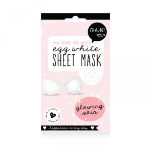 Oh K! Sheet Face Mask Egg White Glowing Skin