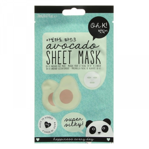 Oh K! Sheet Face Mask Avocado