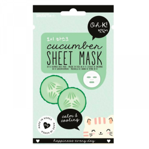 Oh K! Sheet Face Mask Cucumber Calm & Cooling