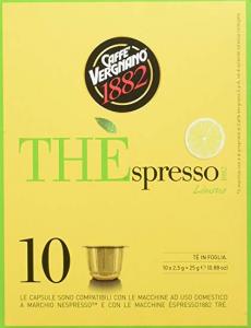 30 Capsule Thè Vergnano gusto Limone - Compatibili NESPRESSO