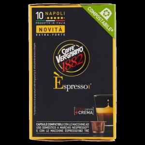 30 Capsule caffè Vergnano gusto Napoli - Compatibili NESPRESSO