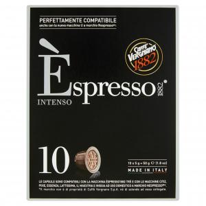 30 Capsule caffè Vergnano gusto Intenso - Compatibili NESPRESSO