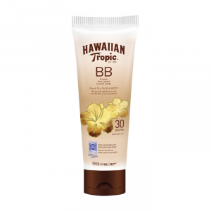 Hawaiian Tropic BB Cream Sun Lotion Face And Body Spf30 150ml