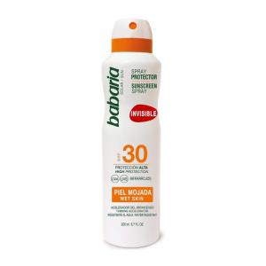Babaria Invisible Sunscreen Spray Wet Skin Spf30 200ml