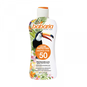 Babaria Tropical Sun Sunscreen Lotion Spf50 200ml