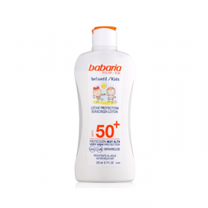Babaria Sun Kids Sunscreen Lotion Water Resistant Spf50 200ml