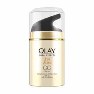 Olay Total Effects 7 in 1 CC Cream Complexion Corrector Spf15 Fair To Medium 50ml