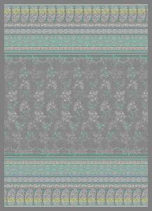 Bassetti Granfoulard MAXI Plaid MONTE ROSA var.7 270x250 grigio