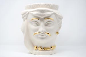 Testa di Moro Bianca e Oro